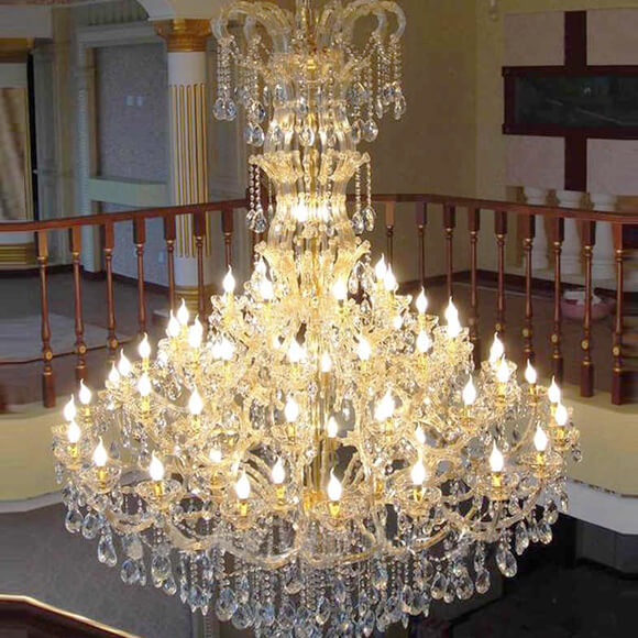 Large Candle Chandeliers